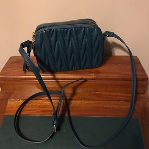 Handbags - Dark turquoise cross body purse 👛